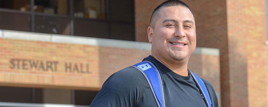 A life transformed: Alex Martinez